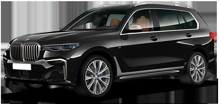 BMW X7, Москва