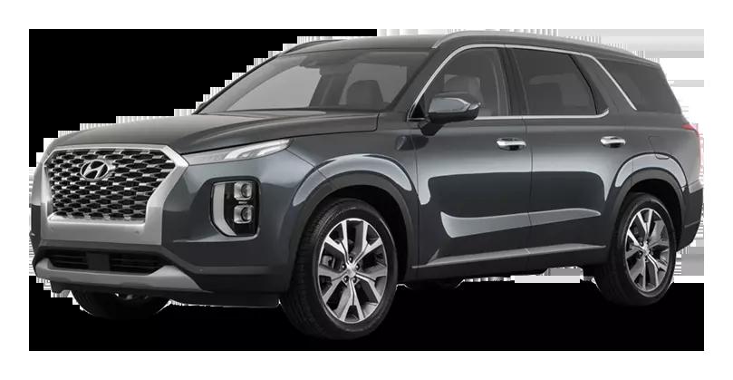 Hyundai Palisade 3.5 (249 л.с.) 8AT AWD, Тёмно-зелёный / rain forest