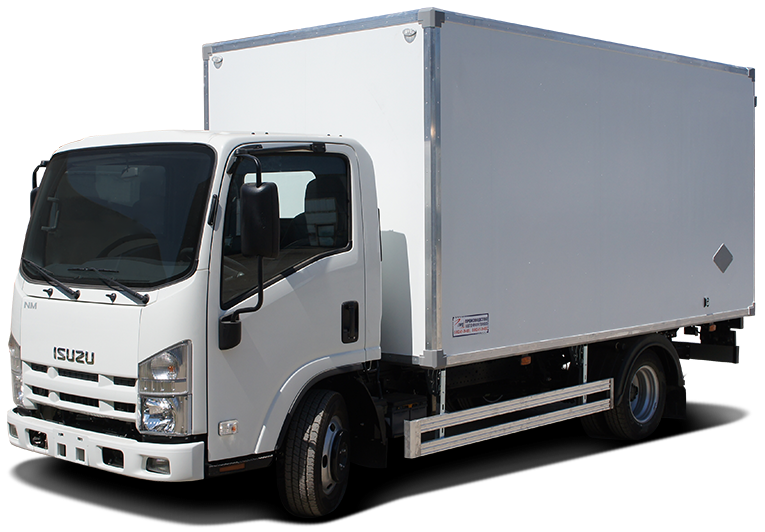 Isuzu ELF 5.5 Short изотермический фургон