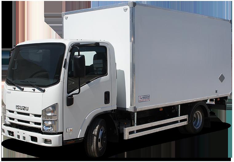 Isuzu ELF 5.5 Long изотермический фургон