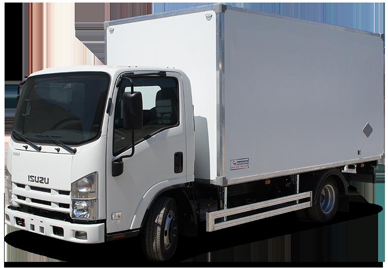 Isuzu ELF 7.5 Long изотермический фургон