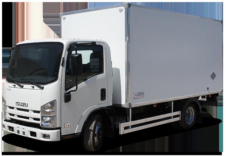 Isuzu ELF 9.5 Short изотермический фургон