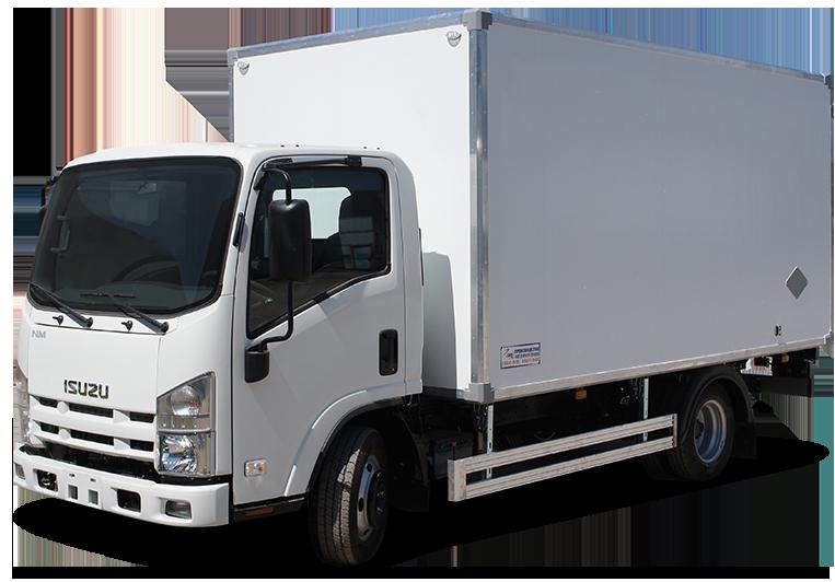 Isuzu ELF 9.5 Extralong изотермический фургон