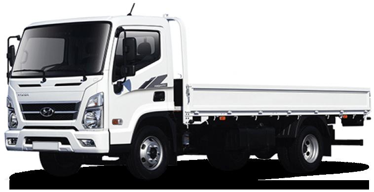 Hyundai Mighty EX9 бортовая платформа