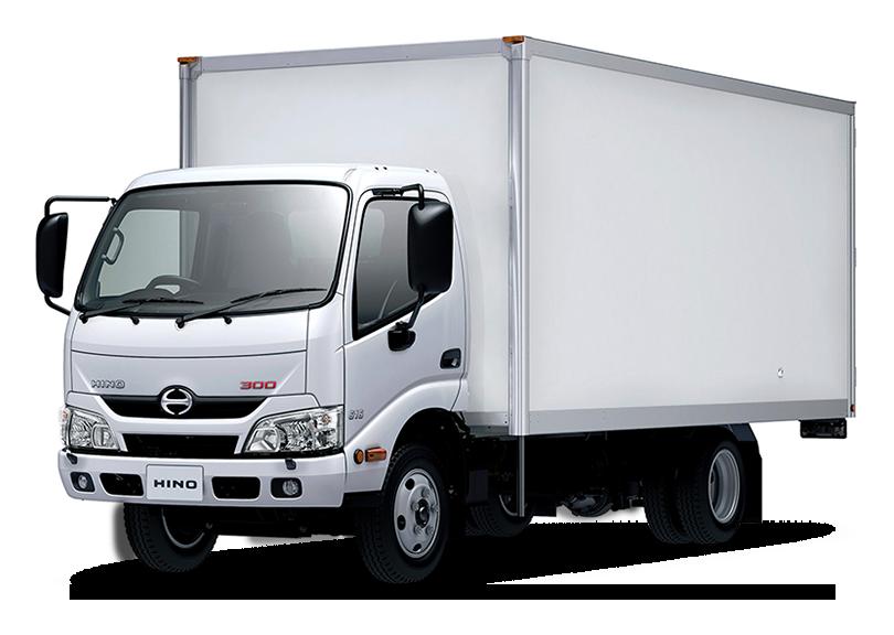 HINO 300 изотермический фургон
