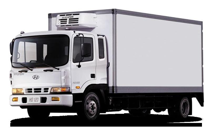 Hyundai HD120 изотермический фургон